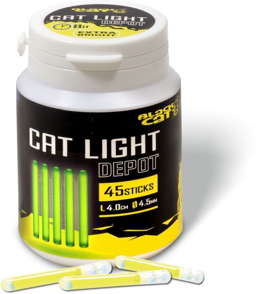 Black Cat Cat Light Depot 45mm