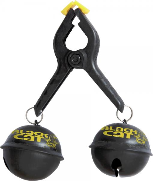 Black Cat Big Bells schwarz/gelb