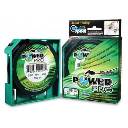 PowerPro Moos Green 135m 0,08mm 4kg