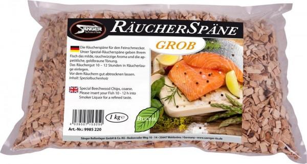 Sänger Räucherspäne Buche grob 1 kg