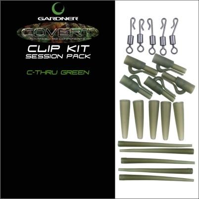 Gardner Covert Clip Kit Session Pack brown