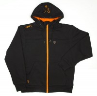 Fox Black Orange Heavy Lined Hoodie