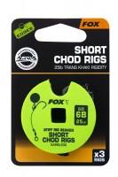 Fox Edges Stiff Chod Rig Short Barbless