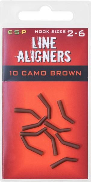 E-S-P Line Aligner Hooksize 7-10 Camo Brown